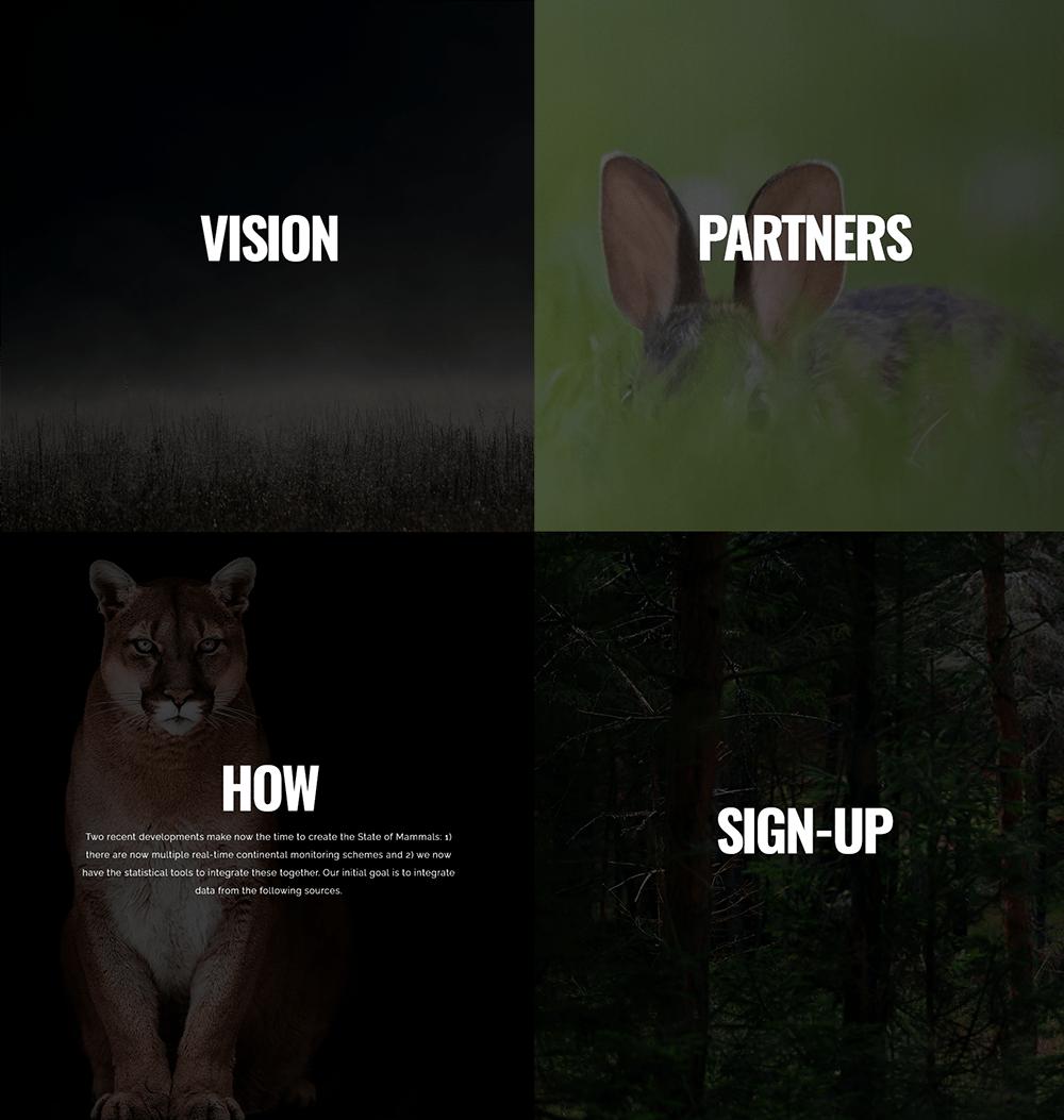 State of Mammals Screenshot